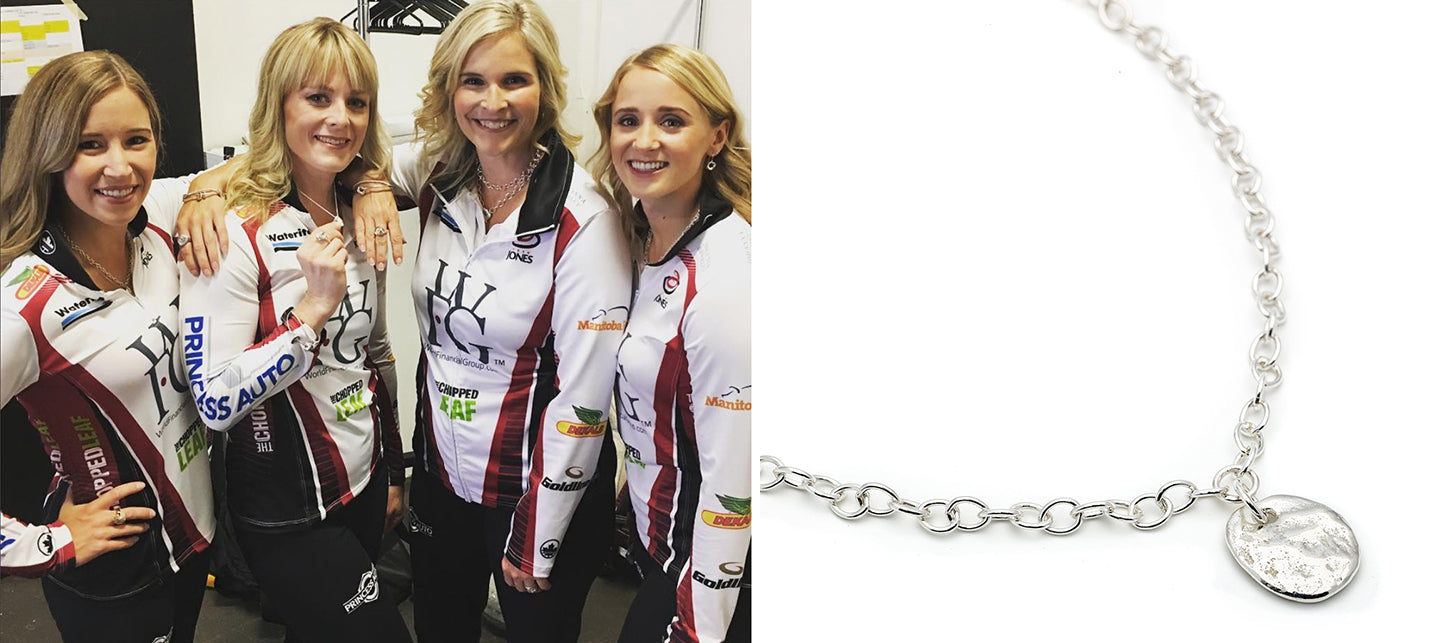 Team Jennifer Jones Necklace