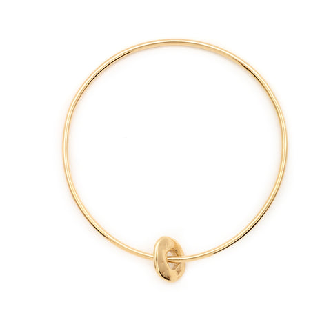 Sense Gold Bangle - Johanna Brierley Jewellery Design