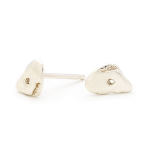 Ledge Stud Earrings - Johanna Brierley Jewellery Design