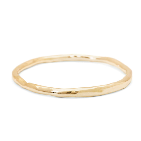 Bigger Melt Bangle in 18k Yellow Gold