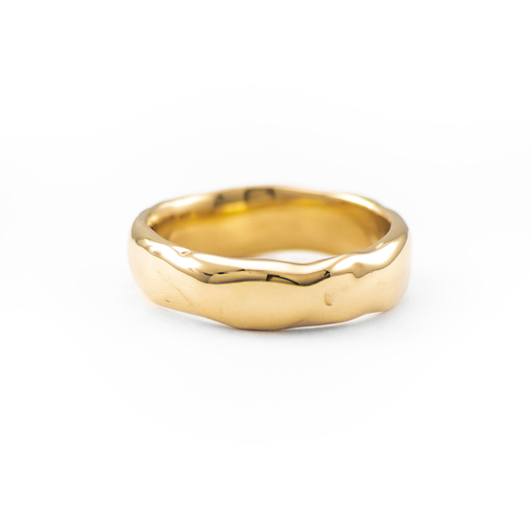 Large Melt Gold Band - Johanna Brierley Jewellery Design