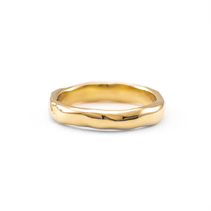 Medium Melt Gold Band - Johanna Brierley Jewellery Design