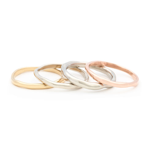 Thinnest Melt Gold Band - Johanna Brierley Jewellery Design