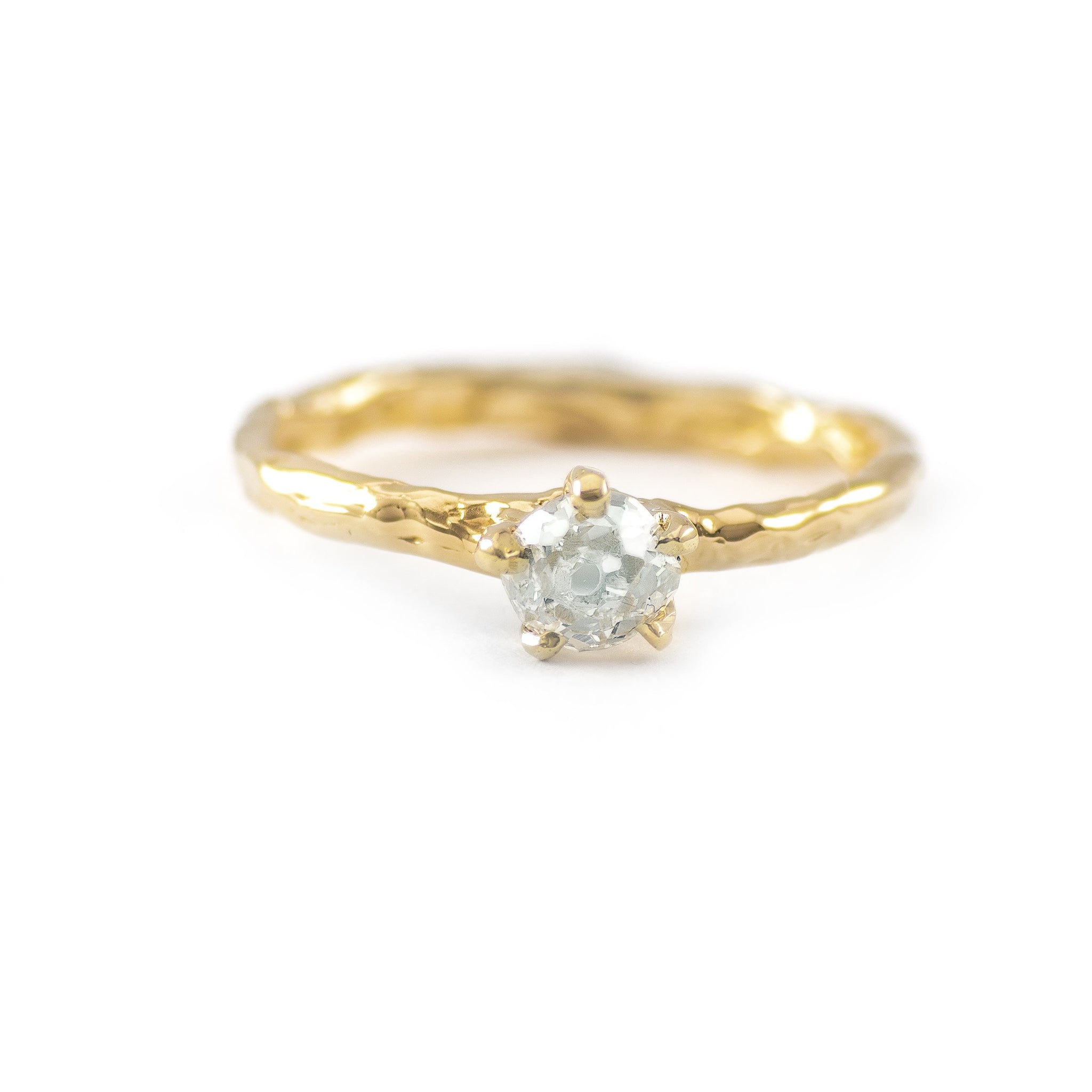 0.55 CT. One of a Kind Gold Prong Melt - Johanna Brierley Jewellery Design