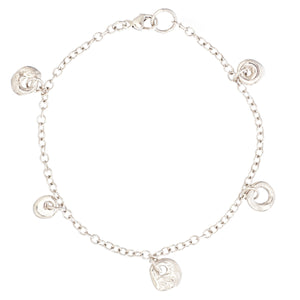 Tiny Charm Bracelet - Johanna Brierley Jewellery Design