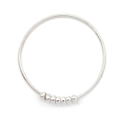 Seven Ditties Bangle - Johanna Brierley Jewellery Design