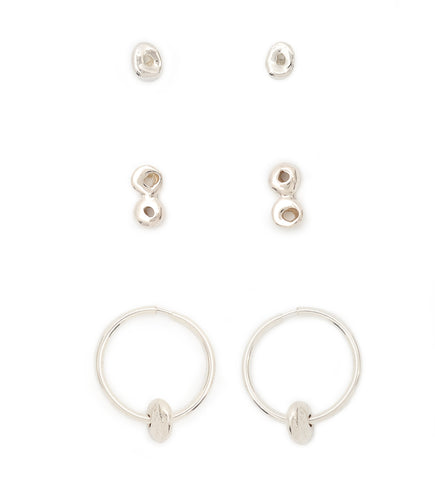 Three Earring Stackers Gift Set