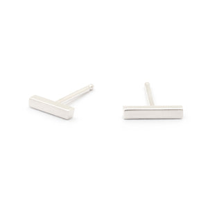 Short Stick Stud Earrings - Johanna Brierley Jewellery Design