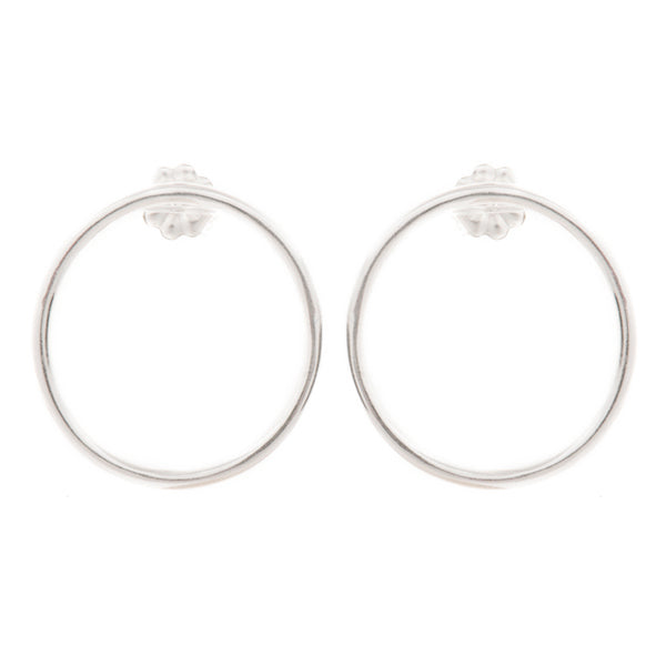 Extra Small Round Hoop Earrings - Johanna Brierley Jewellery Design