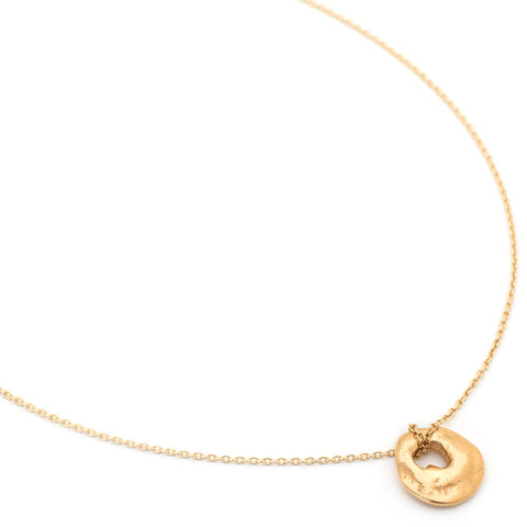 Lucky in Love Gold Necklace - Johanna Brierley Jewellery Design
