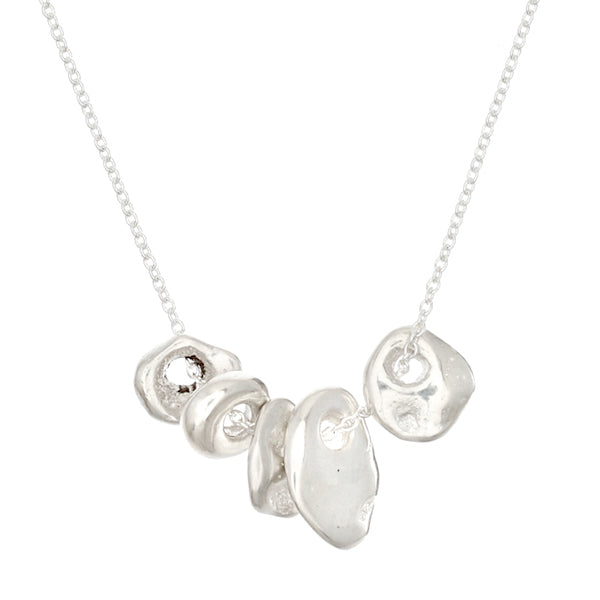 Five Little Luck Necklace - Johanna Brierley Jewellery Design