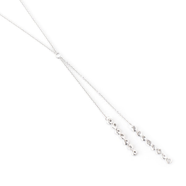 Dot Bolo Lariat Necklace - Johanna Brierley Jewellery Design