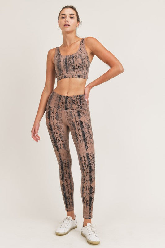 Sophia Snake Leggings