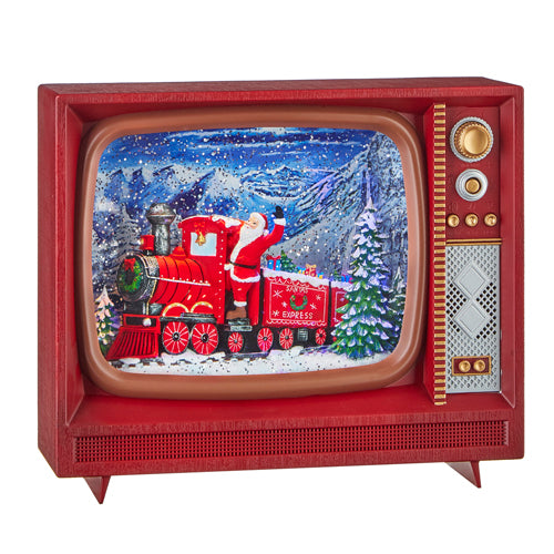 Santa Express Musical Lighted TV