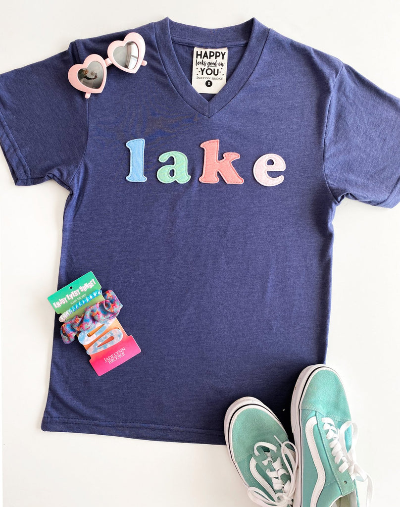 LAKE Patched Tee