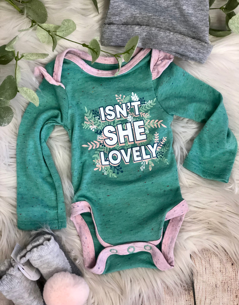 Isn't She Lovely Onesie