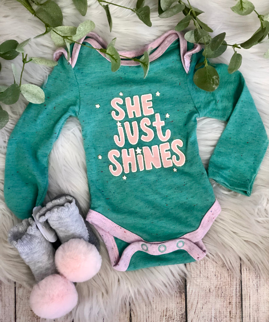 She Just Shines Onesie