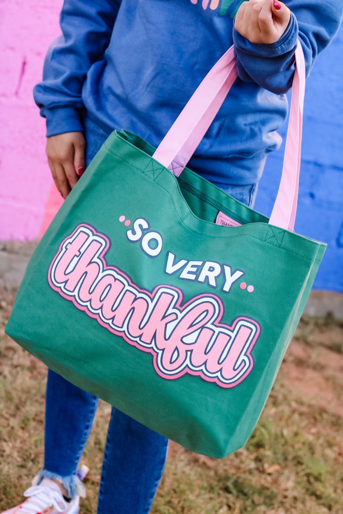 so very thankful tote