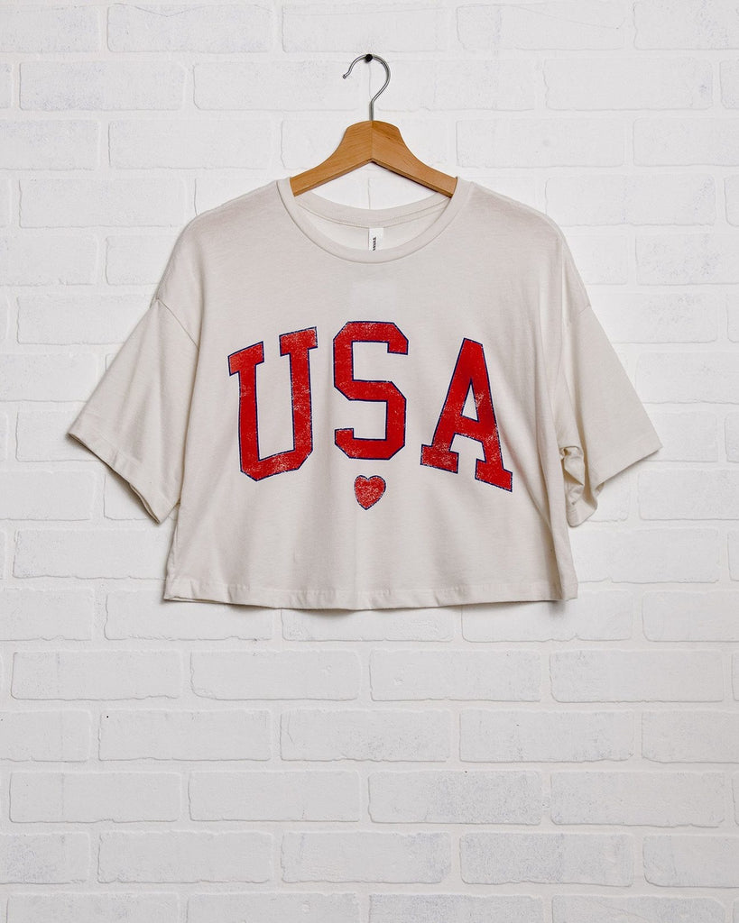USA heart crop