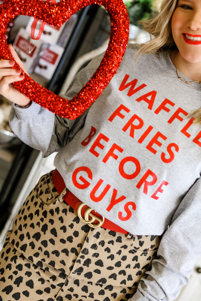 waffle fries before guys