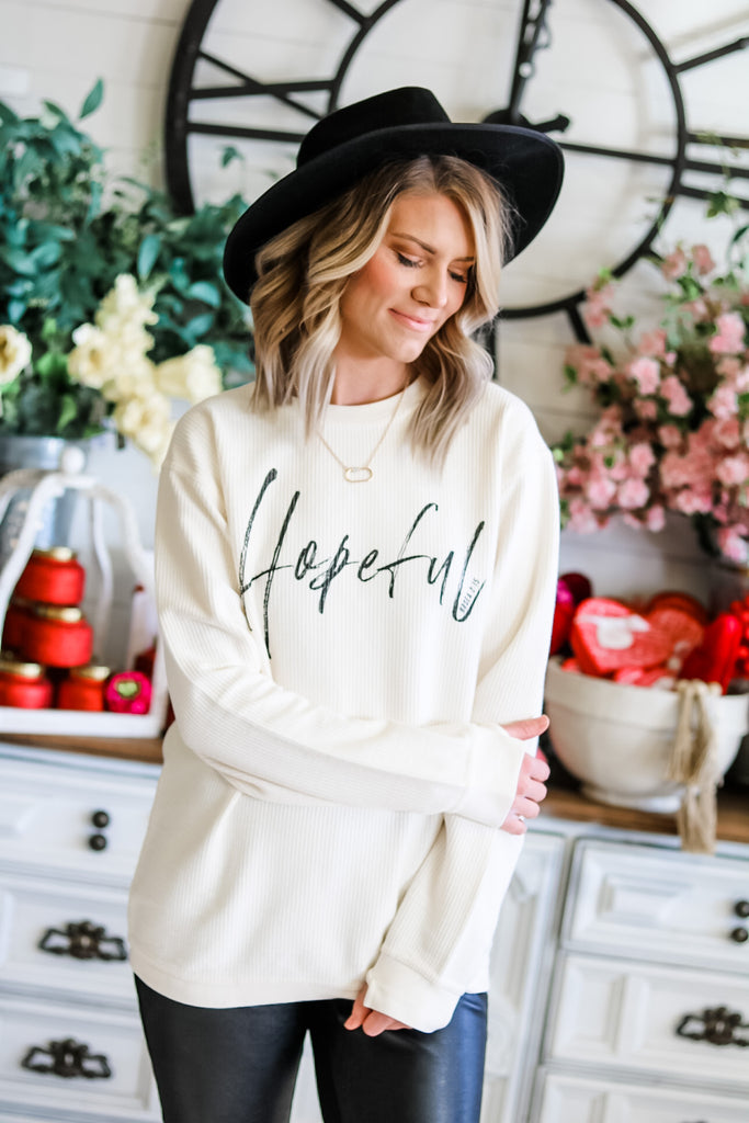 HOPEFUL SWEATSHIRT