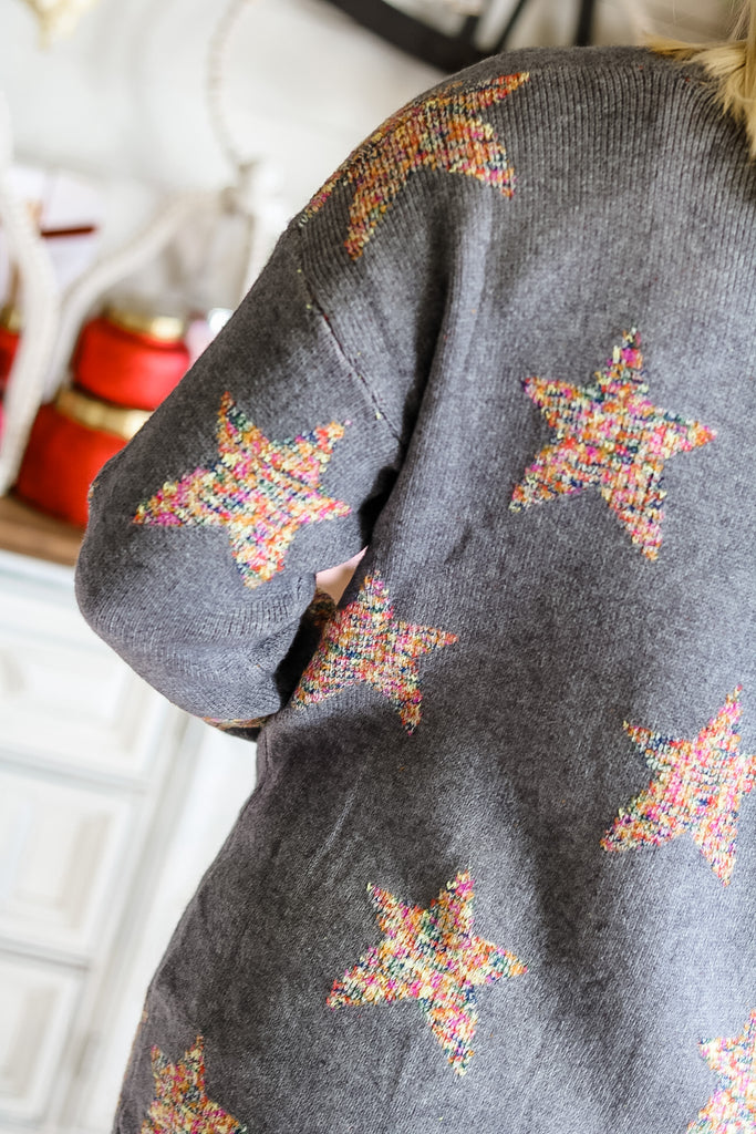 Color Star Cardigan