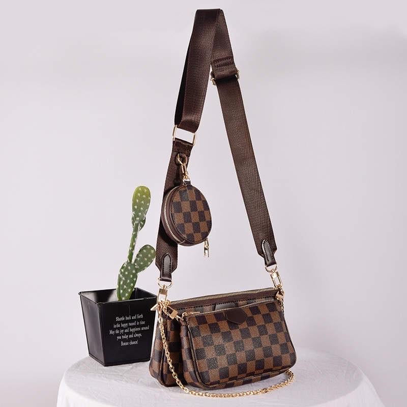Megan Three Piece Crossbody Purse