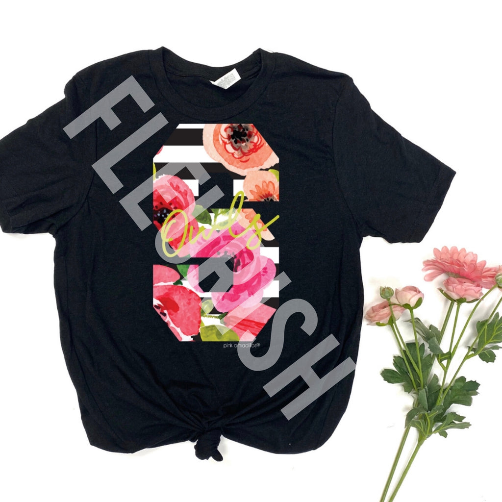 Silverton Floral Mascot Initial Pre-Order