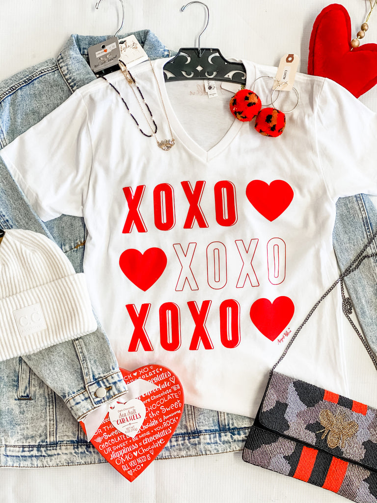 XOXO Hugs and Kisses Tee
