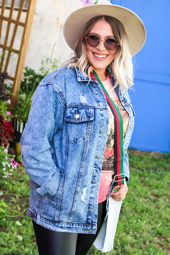 Perfect denim jacket- light