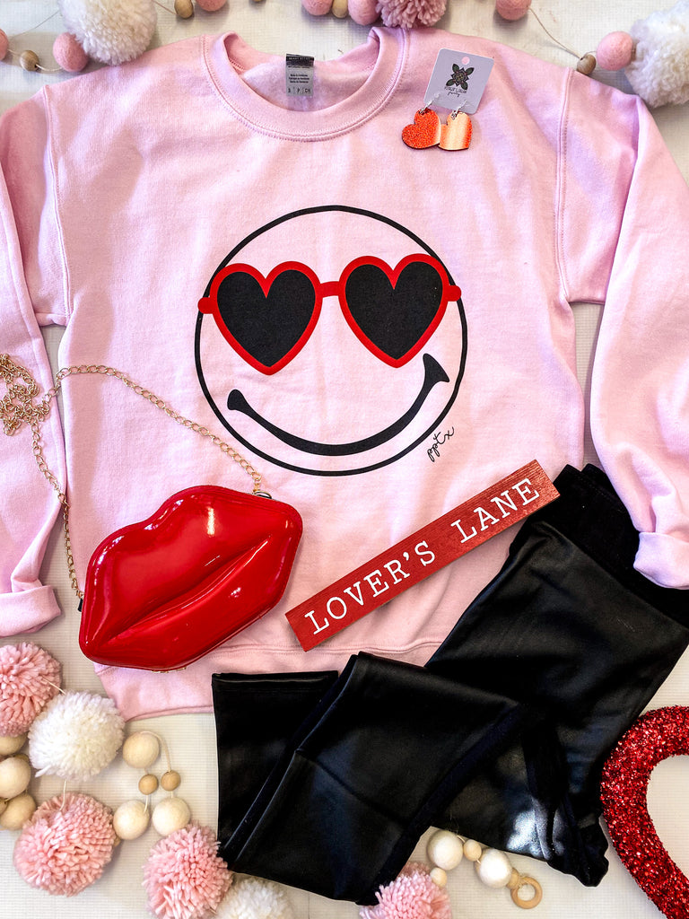 Heart Eyes Crewneck