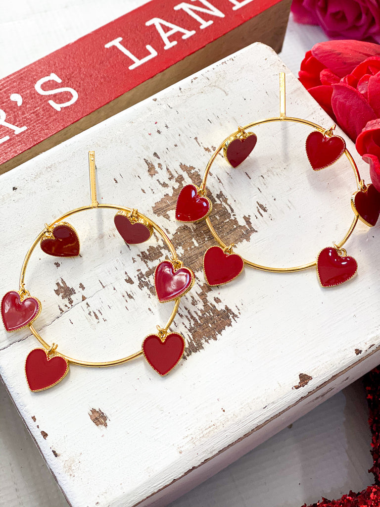 Kiss Me Lots Earrings