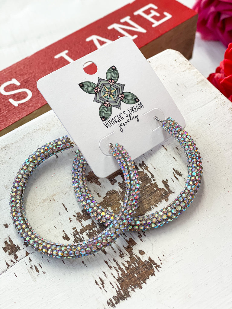 Sparkle and Shine Hoops