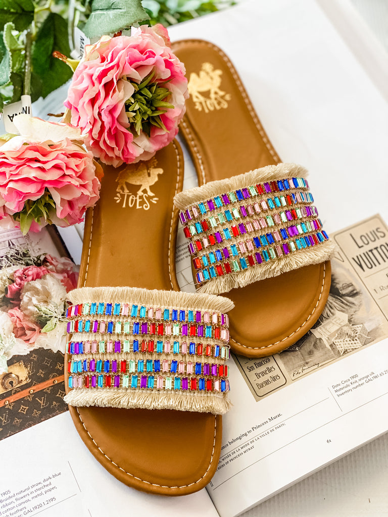 Fifi Jewel Sandals