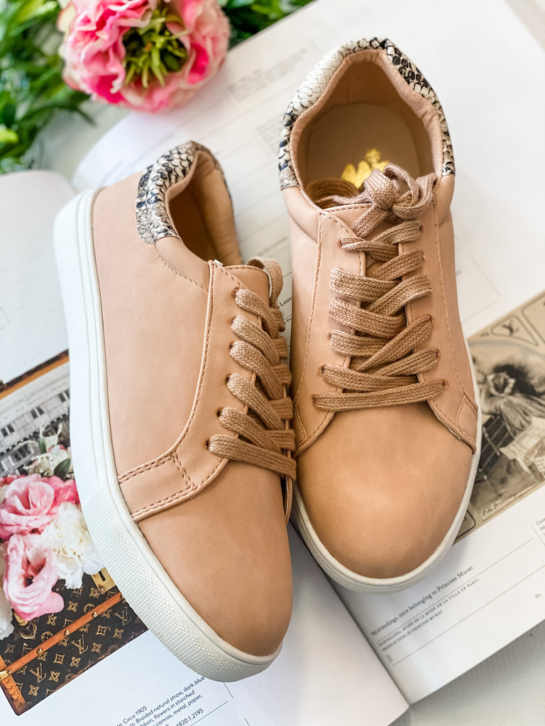 Ellie Blush Sneakers