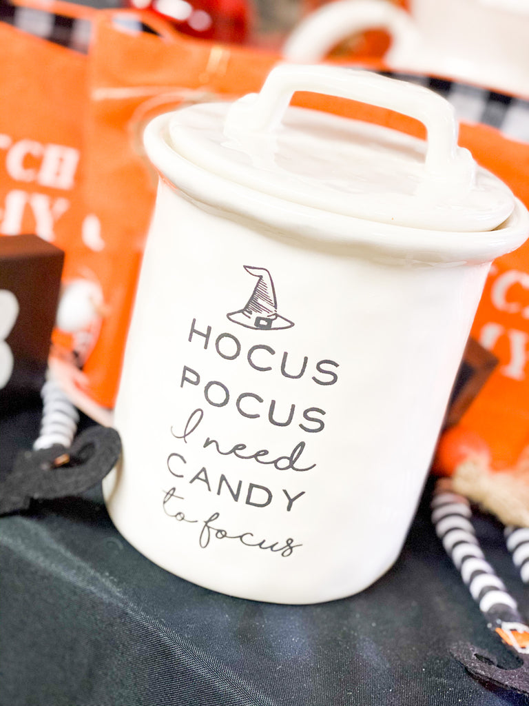 Hocus Pocus Treat Jar