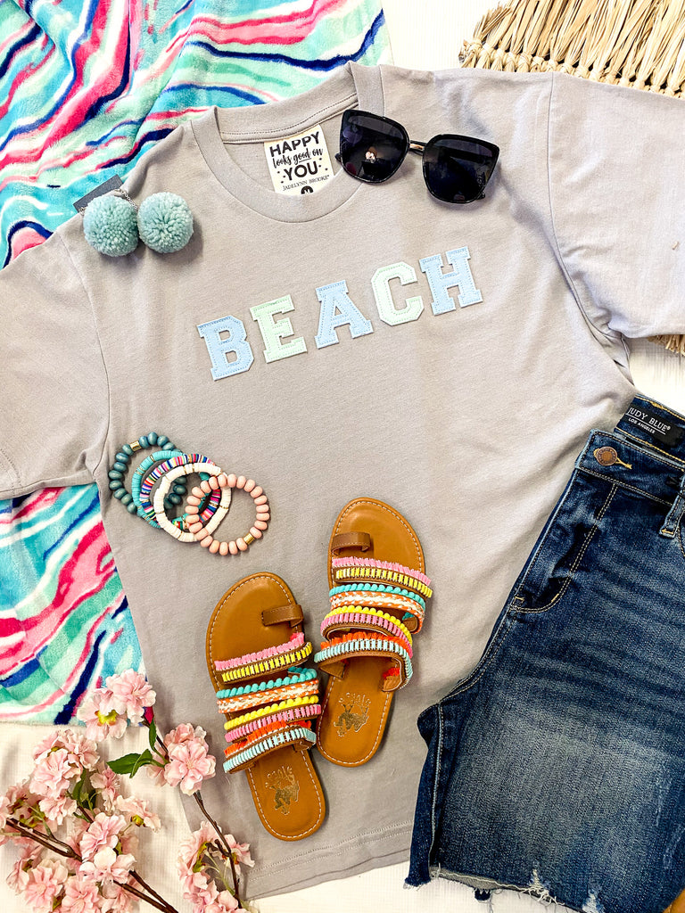 BEACH Patched Tee