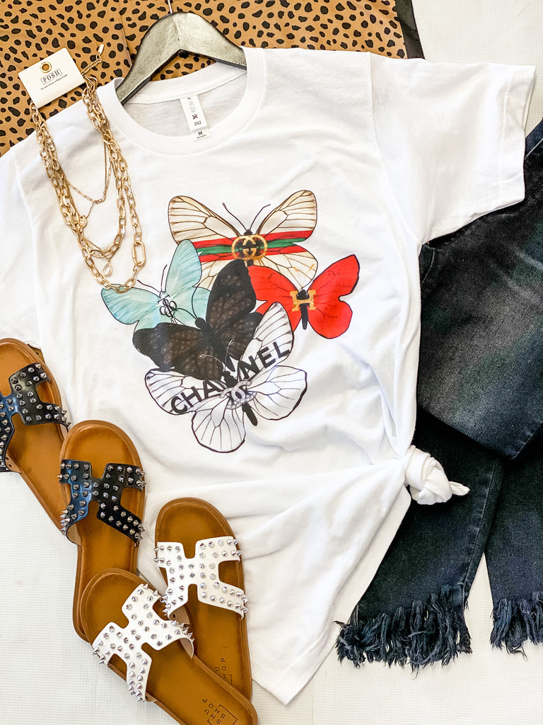 Designer Butterfly Tee