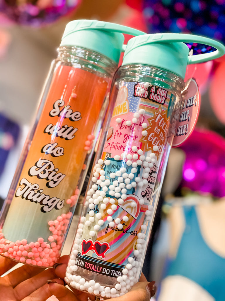 Pom Pom Water Bottle