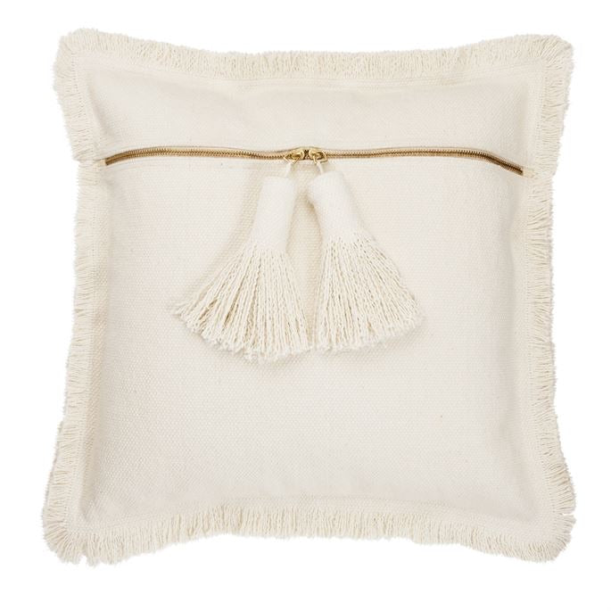 Square dhurrie pillow