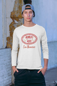 San Francisco Area 415 Long Sleeve T Shirt - 211 INC