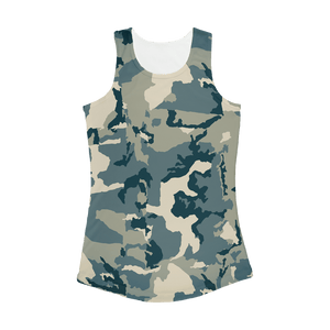 211INC Women's Camouflage Performance Tank Top - 211 INC