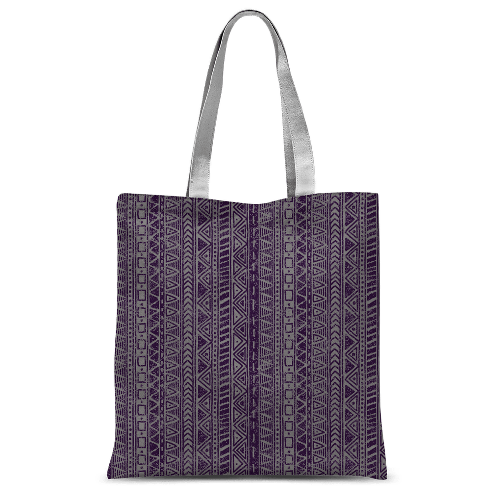 211INC Purple Roads Classic Tote Bag - 211 INC