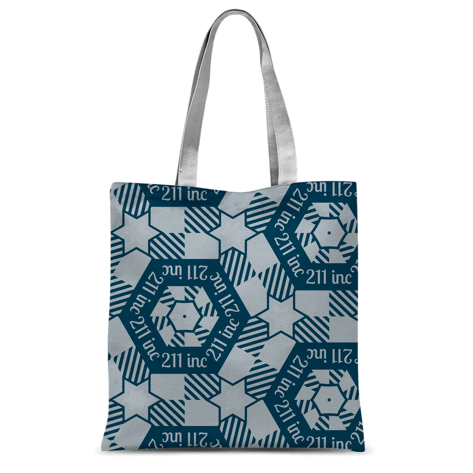 211INC All Over Logo Tote Bag - 211 INC