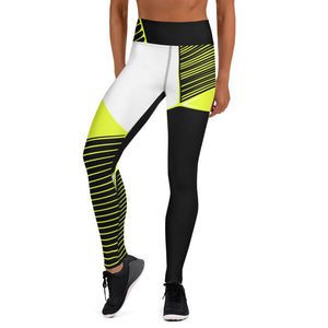 211INC Womens Lime Two the Max Yoga Leggings