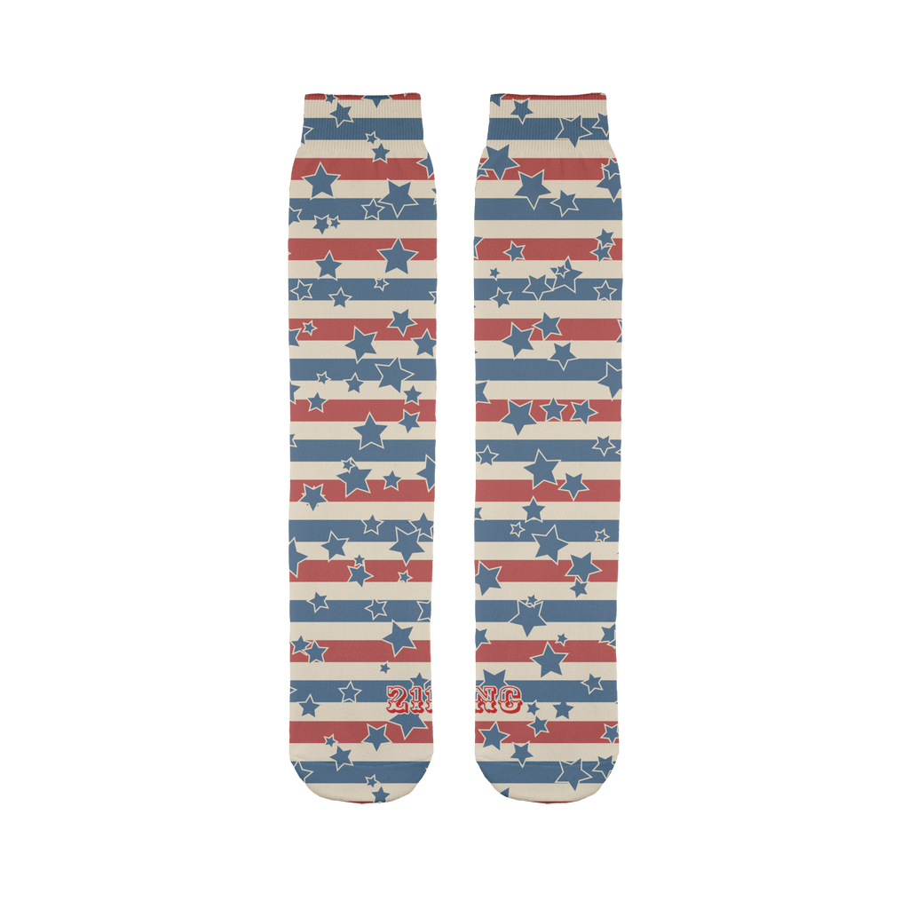 All American Sublimation Tube Sock - 211 INC