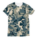 211INC Women's Green Camouflage  T-Shirt - 211 INC