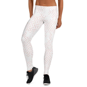 211INC Womens Pink Chord Leggings - 211 INC