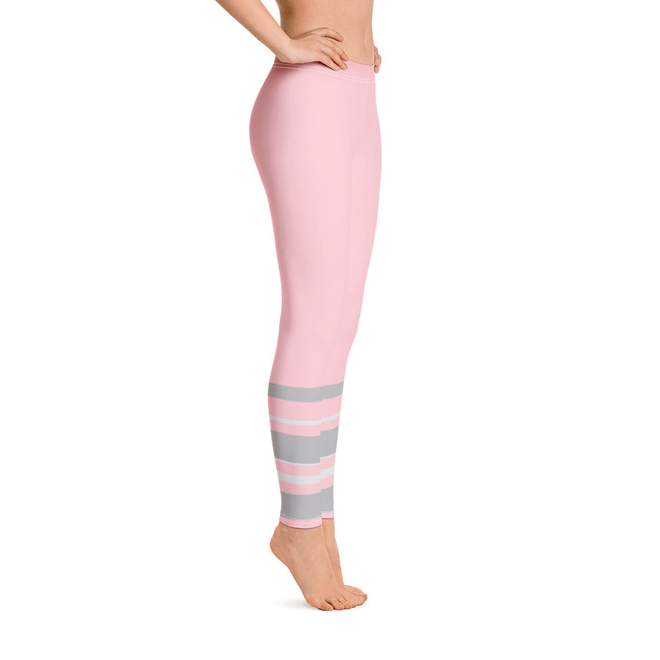 211INC Womens Pink Cotton Leggings