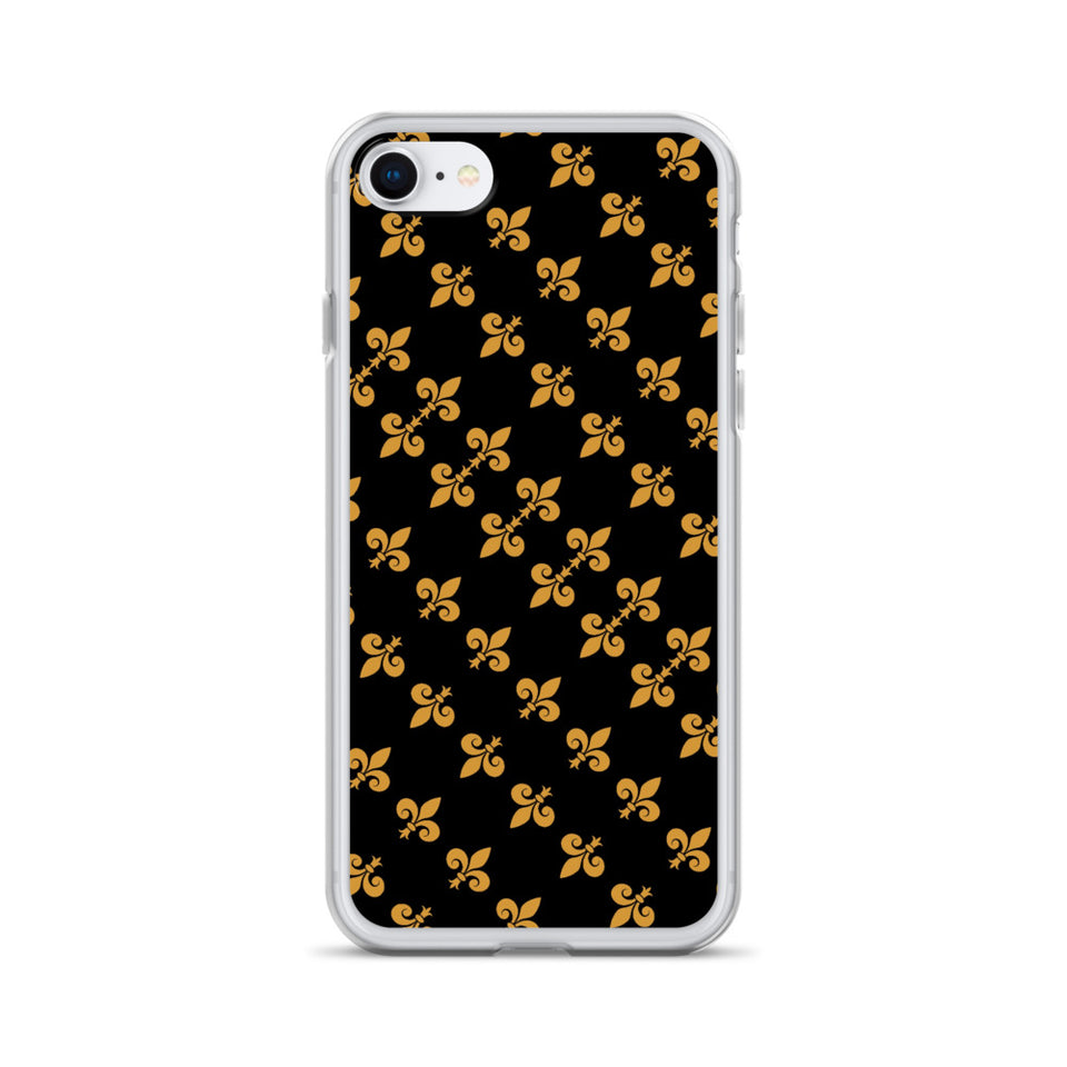 211INC Patterned Fleur iPhone Case